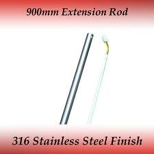 Fias 900mm Ceiling Fan Extension Rod in 316 Stainless Steel