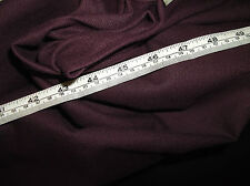 "13 Metre Roll Quality Aubergine Natural Linen Weave Curtain Fabric 54"" wide"