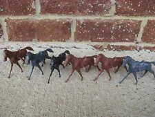 MARX CAVALRY CIVIL WAR HORSES WESTERN CUSTER ALAMO 54MM 1:32 TOY PLAYSET SOLDIER