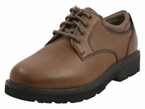 Dockers Men's Shelter Dark Tan Water Repellent Oxfords Shoes