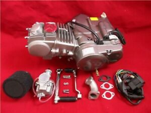 New YX125 Big Valve 4 Speed Manual Pit Bike Engine Full Package
