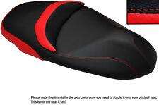 Brillante Rojo Y Negro Custom encaja Piaggio Beverly 350 Sport Touring cubierta de asiento
