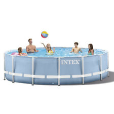 Intex 305*76cm Easy Set Up Inflatable Round Frame Above Ground Pool Set INHAND
