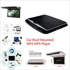 12.1'' Car Roof Overhead Mounted HD MP3 MP4 MP5 Video Media Player FM DVD System