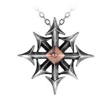Alchemy Gothic (Metal-Wear) Chaostar Pewter Pendant BRAND NEW