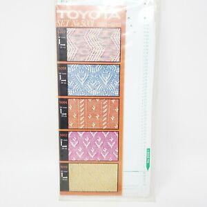 Toyota Knitting Machine Punch Cards set No. 5001-5010