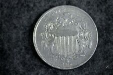 Estate Find 1866 - W/CENTS Shield Nickel!!  #J11452