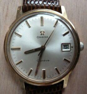 Vintage Omega Geneve Mechanical Wristwatch - Excellent Original Dial - Cal. 613