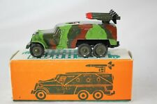 1970's Diecast Russian Military Missile Launcher Truck with Original Box