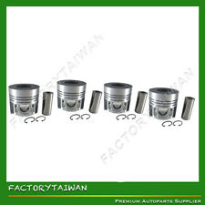 Piston Set STD 108mm for Kubota V4300 (16132-21110) x 4 PCS