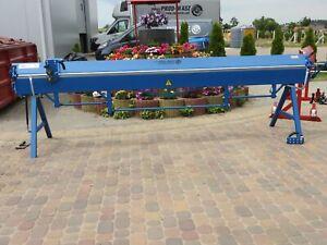 Abkantbank 3,5m + Rollenschere Schwenkbiegemaschine Biegemaschine Kantbank NEU