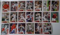 2012 Topps Series 1 & 2 Boston Red Sox Team Set of 20 Baseball Cards