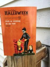 Dept 56 Halloween Accessory Trick Or Treating On The Lane Nib