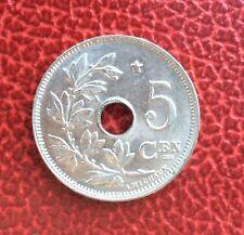 Belgique - Albert Ier - Magnifique monnaie de 5 Centimes 1931 VL
