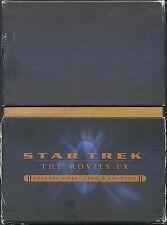 Star Trek The Movies I-X Special Collector`s  Edition 20 DVD`s Deutsche Ausgabe