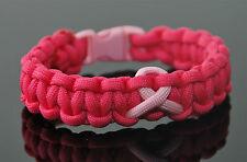 Breast Cancer 550 Paracord Bracelet