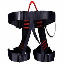 Rock Climbing Harness Safety Belt Rappelling Tree Seat Outdoor Body Sitting Gear
