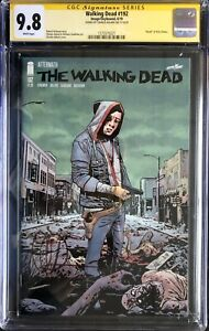 IMAGE COMICS THE WALKING DEAD #192 CGC 9.8 SIGNED BY CHARLIE ADLARD 1ST PRINT