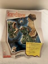 Secret of Evermore SNES Insert Poster Only (Super Nintendo)