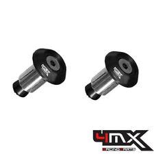 4MX Alloy Black Bar End Caps to fit Suzuki GSF1200 K6 Bandit 2006