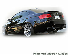 BMW E92 COUPE Lack Saphirschwarz 475 M Tuning Bodykit Hinten Heck Spoiler Flügel