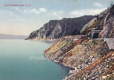 Old Photo. Russia. Lake Baikal - Waterfront, Tunnel