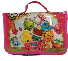 Shopkins Toy Carry Case Purse Tote Figure Storage Organization Pink