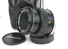OLYMPUS OM FIT ZUIKO AUTO-MACRO 50mm 1:3.5 Lens. (238040).