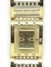 Swatch Watch Brilliant Bangle Gold SUBM107G Orologio Reloj Armbanduhr 腕時計 手表