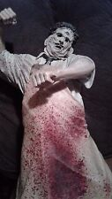 McFarlane Movie Maniacs 18 Inch Leatherface Texas Chainsaw Massacre WORKS RARE