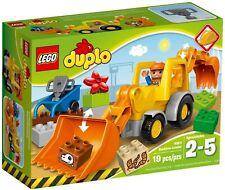 Brand New Sealed Box Lego Duplo 10811 Backhoe Loader super rare set