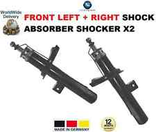 FOR PEUGEOT 206 VAN BOX 1999-ON FRONT LEFT + RIGHT SHOCK ABSORBER SHOCKER X2