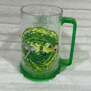 Rick and Morty Adult Swim Freezer Cup Green Mug Cartoon Frozen Drink Mug 20 oz