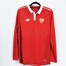 2016-17 Sevilla FC Player Issue European Away Shirt L/S NB *BNWT* M Jersey