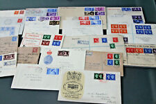 GB - GVI COLLECTION OF 22 COVERS - MOSTLY FIRST DAY COVERS