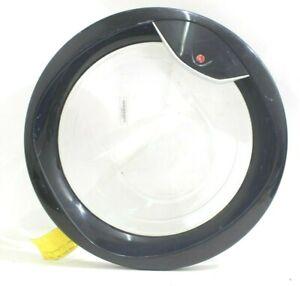 Hoover Washing Machine Door VHD8143D VHD844 D8 Glass Handle hinge in White