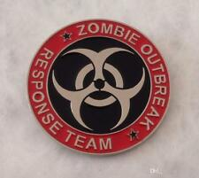 Unique cosplay collectible Us seller Zombie Outbreak Response Team Belt Buckle