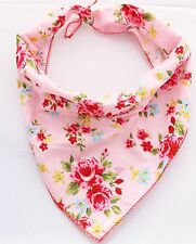Pet Pooch Boutique Vintage Bandana for Dog Small/medium Pink