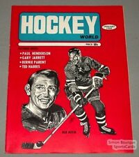 1969 Hockey World Magazine Bob Nevin On The Cover