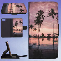 SKY SUNSET BEACH VACATION FLIP WALLET CASE FOR APPLE IPHONE PHONES