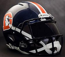 DENVER BRONCOS NFL Gameday REPLICA Football Helmet w/ OAKLEY Eye Shield