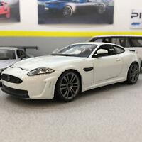 Jaguar XKR-S White 1:24 Scale Die-Cast Model Car