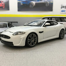 Jaguar XKR-S White 1:24 Scale Die-Cast Model Car