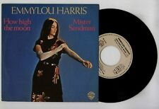 45 RPM SP EMMYLOU HARRIS HOW HIGH THE MOON