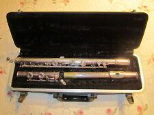 Vtg Selmer Bundy Silver Flute #298993- 3 Piece in Hard Case USA