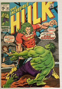 The Incredible Hulk 141. First appearance Doc Samson