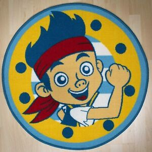 DISNEY JAKE AND THE NEVERLAND PIRATES FLOOR RUG