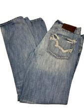 Big Star Pioneer Men's Size 32 R Denim Jeans Regular Boot Cut Pants Distressed