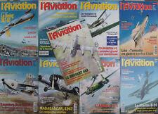 Lot/ 9 revues Le fana de l'aviation - entre 1993 et 1998 - n°284 313 314 328 329