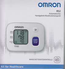 Omron Rs 2 - New Model - Wrist Blood Pressure Monitor - Nip From Med. Fh
